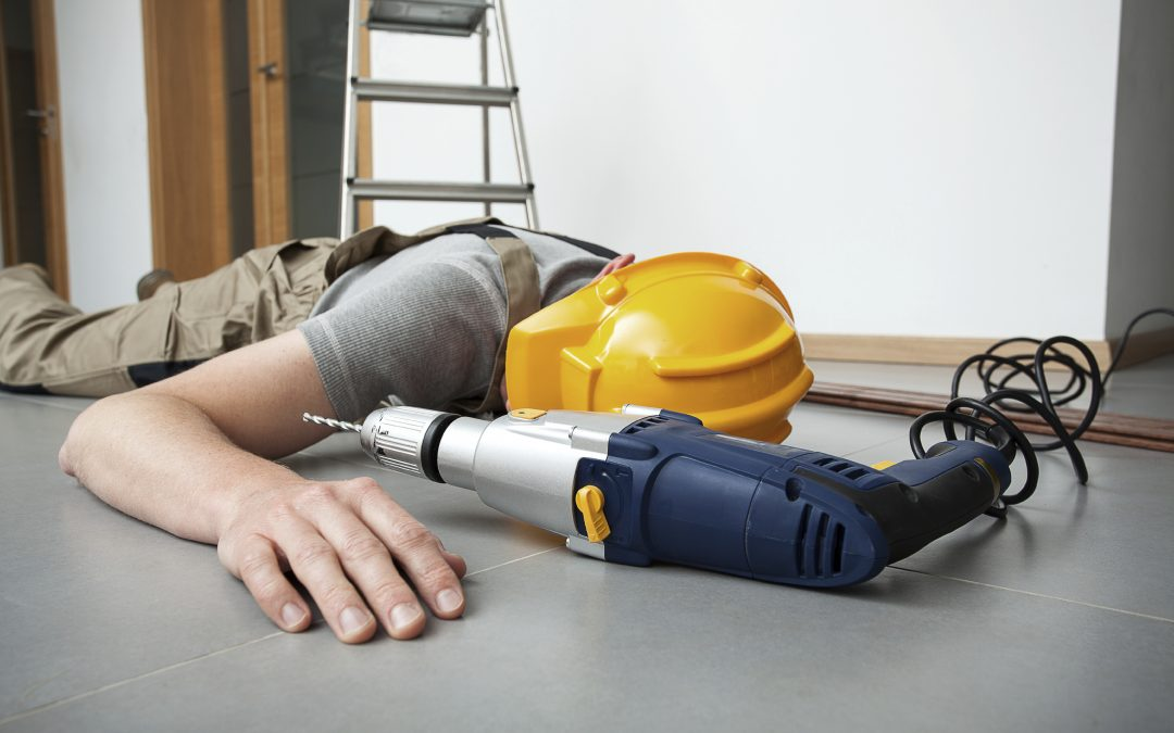Os acidentes mais comuns na Construção Civil